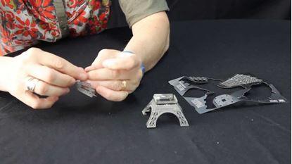Obrázek 3D puzzle - Eiffelova věž