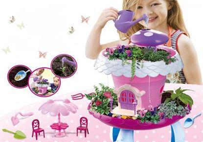 Obrázek Pohádková zahrada - růžová