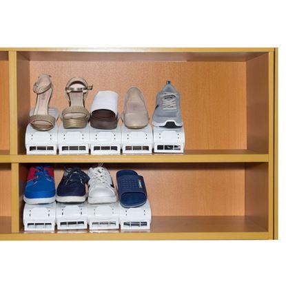 Obrázek Plastový organizér na boty - sada 30 ks