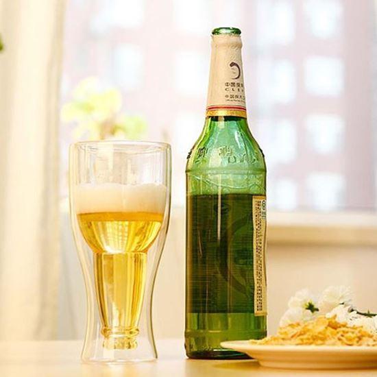 Obrázek z Sklenice ve tvaru piva