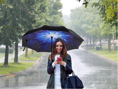 Obrázek Obrácený deštník - vesmír