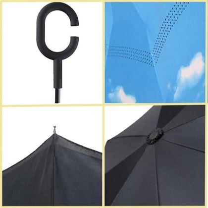 Obrázek z Obrácený deštník - nebe