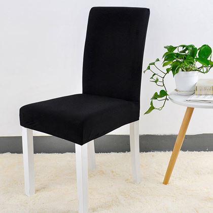 Obrázek z Potah na židli - černý