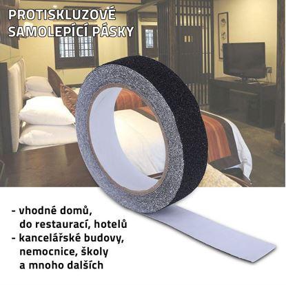 Obrázek Protiskluzové samolepící pásky
