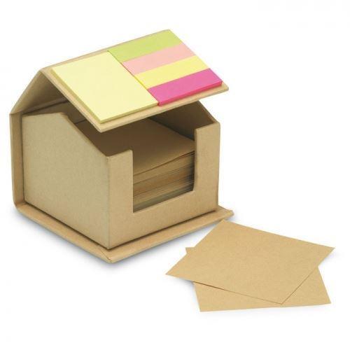 Obrázek z Bloček s lepíky - domeček