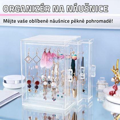 Obrázek z Průhledný organizér na náušnice
