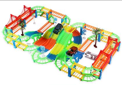 Obrázek z Autodráha s mosty a autíčky