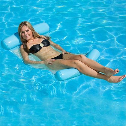 Nafukovací lehátko do bazénu