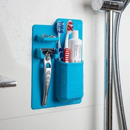 Obrázek z Držák hygienických potřeb - modrá