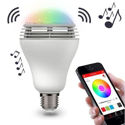 Inteligentní LED žárovka s reproduktorem a bluetooth