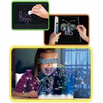 Obrázek z 3D kreslící tabule