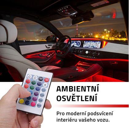 Obrázek z Ambientní osvětlení do auta