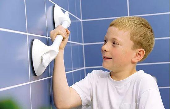 Obrázek z Nastavitelné madlo do koupelny