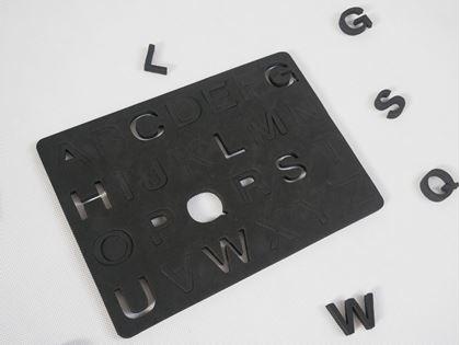 Obrázek z Magnetická písmena na lednici