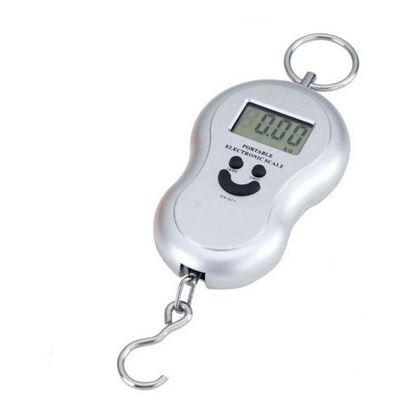 Obrázek Digitální závěsná váha - stříbrná