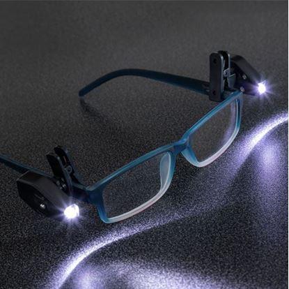 Obrázek Přídavné světlo na brýle 2 ks