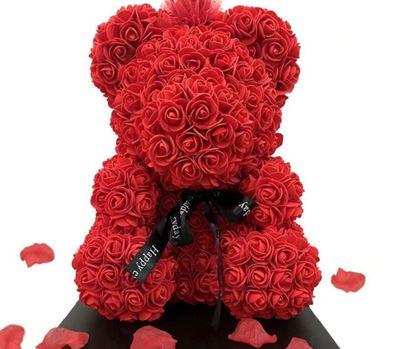 Obrázek Vyrob si sám - medvídek z růží