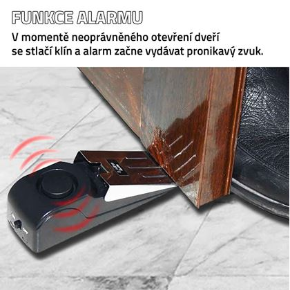 Obrázek z Alarm pod dveře