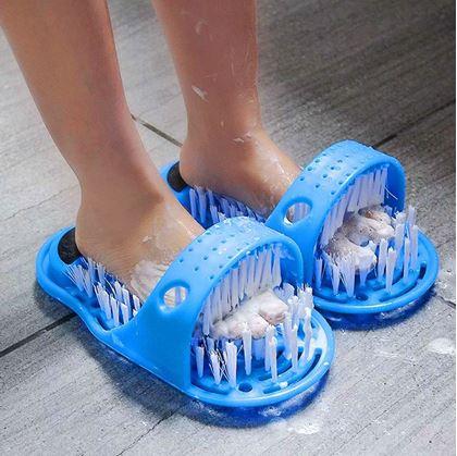Obrázek z Čistící pantofle do koupelny