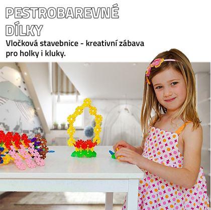 Obrázek z Vločková stavebnice 500 ks