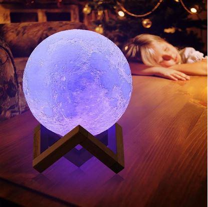 Obrázek Lampička - barevný Měsíc