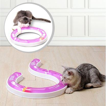 Obrázek Koulodráha pro kočky