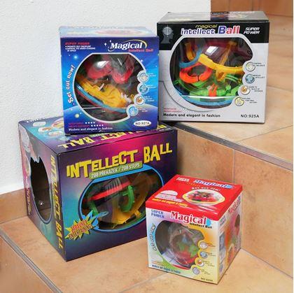Obrázek z Intellect ball - 100 překážek