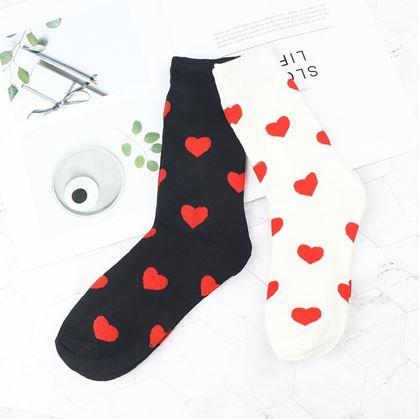 Obrázek z Zamilované ponožky - bílé
