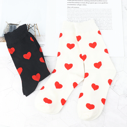 Obrázek z Zamilované ponožky - černé