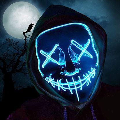 Obrázek Děsivá svítící maska