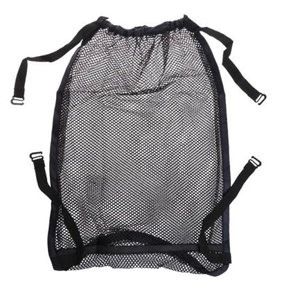 Háčkovaná taška na kočárek