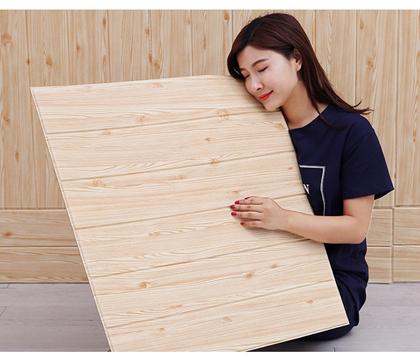 Obrázek z 3D tapeta - světlé dřevo