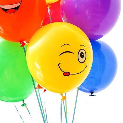 balónky kreslené