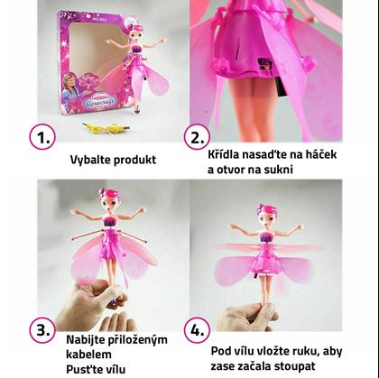 Létající víla panenka