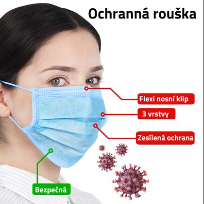 Ochranná rouška - 20 ks | Darky.cz