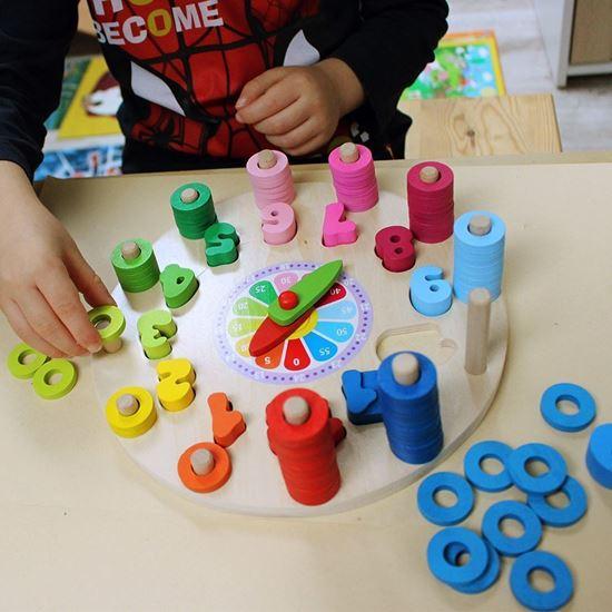 Hodiny na učení pro děti