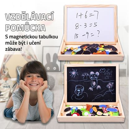 Obrázek Balíček 3 dřevěných hraček