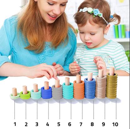 Obrázek Balíček 2 dřevěných hraček