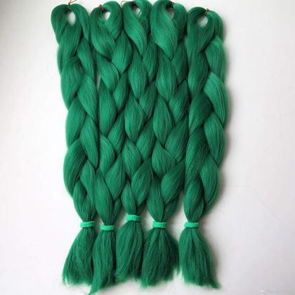Obrázek z Vlasový příčesek - zelený