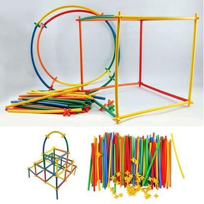 Obrázek Stavebnice - skládací tyčky
