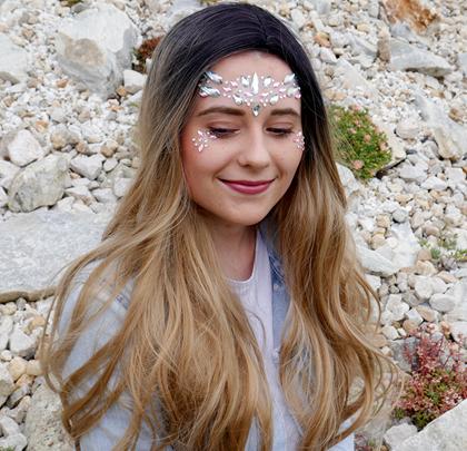 Nalepovací kamínky na obličej