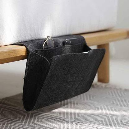 Obrázek Organizér na postel - černý