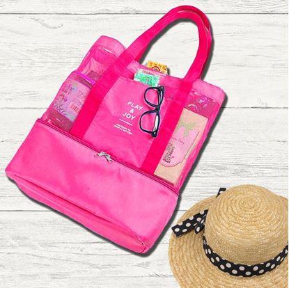 Obrázek Plážová taška s termo přihrádkou