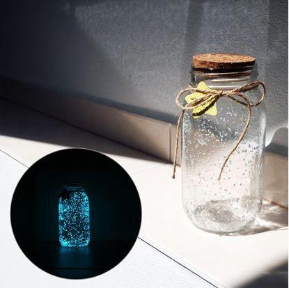 Obrázek Svítící skleněná dóza