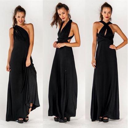 Obrázek Univerzální šaty - černé