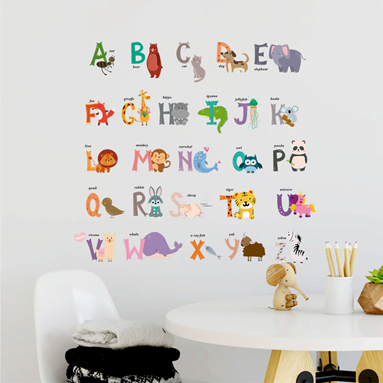 dětské samolepky na zeď