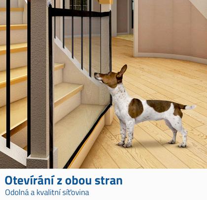 Zábrana dna schody