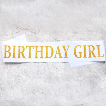 narozeninové šerpy
