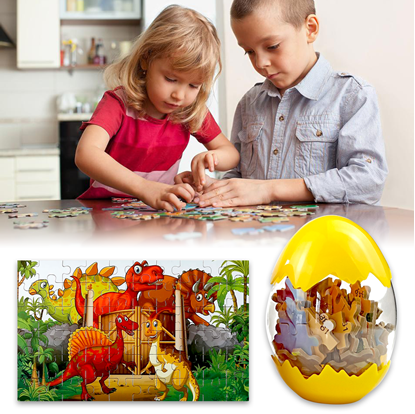 Puzzle dinosauři