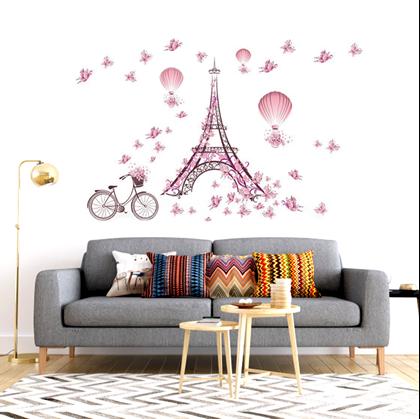 Samolepka Na Zed Eiffelovka Darky Cz